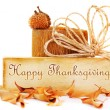 Foto Stock: Thanksgiving card