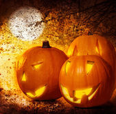 Grunge Halloween background — Stock Photo