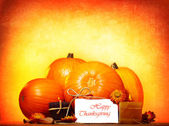 Happy thanksgiving day — ストック写真