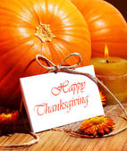 Thanksgiving holiday card — Стоковое фото