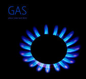 Gas blaze — Stock Photo