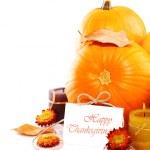 confine di decorazione festa del ringraziamento — Foto Stock