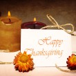Thanksgiving holiday greeting card — Stock Photo #7241405