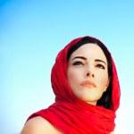 Beautiful arabic woman — Stock Photo
