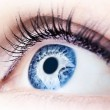 Abstract blue eye - Stock Photo