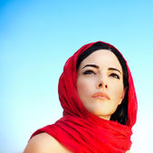 Beautiful arabic woman — Stock Photo