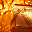White gift box — Stock Photo #7665501