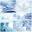 Royalty-Free Stock Photo: Wintertime concept collage