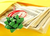 Money as gift — Stock Photo