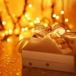 Beautiful Christmas gift — Stock Photo #7902433