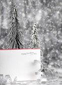 Prettige vakantie kerstkaart — Stockfoto