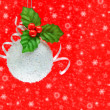 Christmas and New Year ornament — Stock Photo #7940298