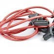 Stock Photo: Ignition cables kit