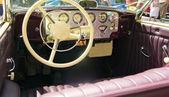 Detail van het interieur van een oude auto — Stockfoto