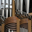 Large church organ — Stock Photo #7495809