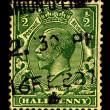 Postage stamp. - Stok fotoraf