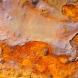 Aged rusty iron texture grunge background — Stock Photo