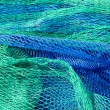 Fishing net tackle textures from Mediterranean — Stock Photo