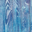 Blue weathered wood door texture good as grunge - Stock Photo