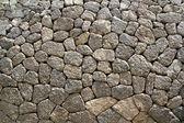 Parete in muratura grigio calcare tipico da stile di mallorca — Foto Stock