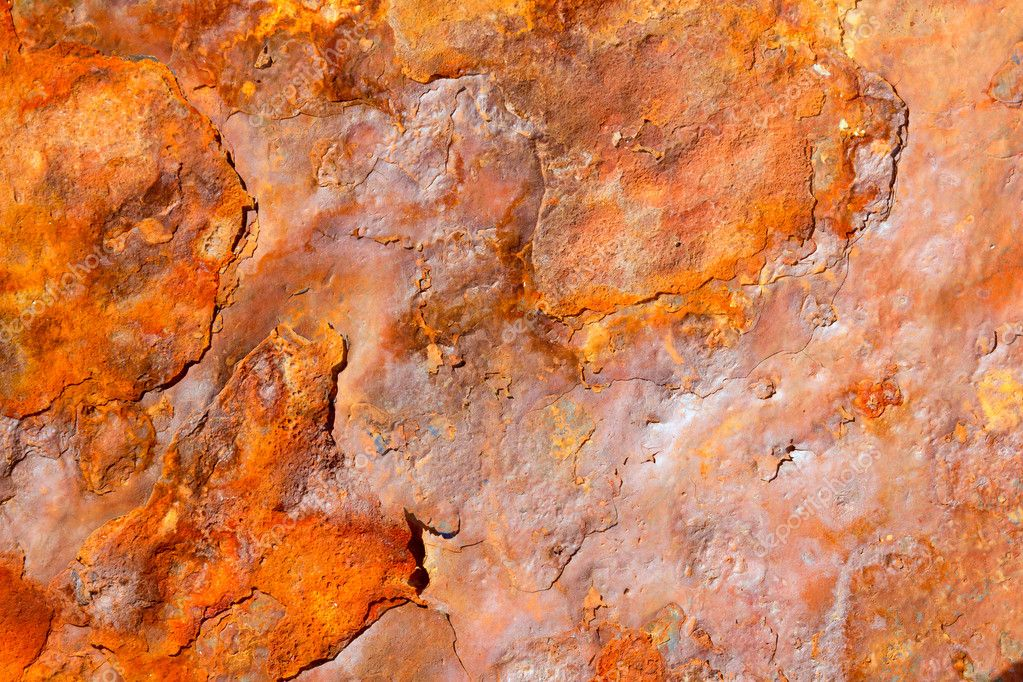 Aged rusty iron texture like a good grunge background  Stock Photo #6819286