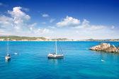Cala Fornells Majorca in Mediterranean Mallorca Island — Stock Photo