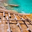 Escorca Sa Calobra beach in Mallorca balearic island — Stock Photo #6835412