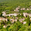 Deia village in Majorca Tramuntana mountain - Stock Photo