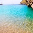 Escorca Sa Calobra beach in Mallorca balearic islands — Stock Photo