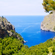 Escorca Sa Calobra beach in Mallorca balearic island — Stock Photo #6835915