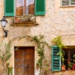 Medieval Valldemosa traditional Majorca village — Stock Photo
