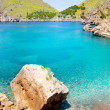 Escorca Sa Calobra beach in Mallorca balearic island — Stock Photo #6836210