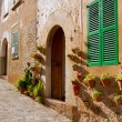 Majorca Valldemossa village in Tramontana — Stock Photo