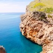 Escorca Sa Calobra beach in Mallorca balearic island — Stock Photo #6836598