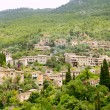 Deia typical stone village in Majorca Tramuntana - Stock Photo