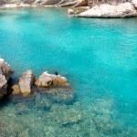 Calvia Cala Fornells turquoise mediterranean in Majorca — Stock Photo #6838393