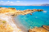 Alcudia in Mallorca la Victoria turquoise beach — Stock Photo