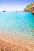 Escorca Sa Calobra beach in Mallorca balearic islands — Stock Photo