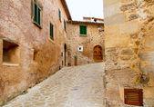 Medieval Valldemosa traditional Majorca village — Stock Photo