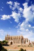 大教堂的从帕尔马马略卡岛 la seu — 图库照片