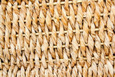 Basketry traditional texture of twisted reeds — Stock Photo