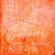 Stock Photo: Grunge wall cracked texture in orange