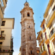 Santa Catalina church tower in Valencia — Stock Photo