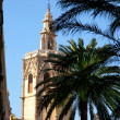 Valencia El Miguelete Micalet cathedral - Stock Photo