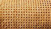 Enea grid handcraft for chair seats — Stock Photo