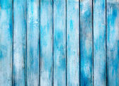 Aged blue painted grunge wood texture — Stock Photo