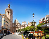 Valencia El Miguelete Micalet cathedral — Stock Photo