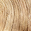 Basketry traditional interlaced dried texture - Stock Photo