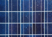 Blue solar energy plate detail — Stock Photo
