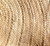 Basketry traditional interlaced dried texture — Stock Photo